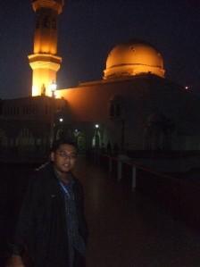 Ni kat Masjid Terapung.. Baru lepas Solat Subuh