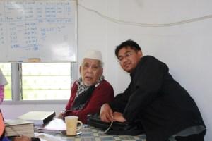 Bersama tokoh Falak Negeri terengganu Tn. Haji Abdul Ghani Salleh..