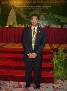 Satunya wakil USIM ke program APQN Malaysia di PWTC KL.