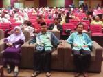 Dato Mufti dan Isteri.. Saya di belakang Dato' Mufti